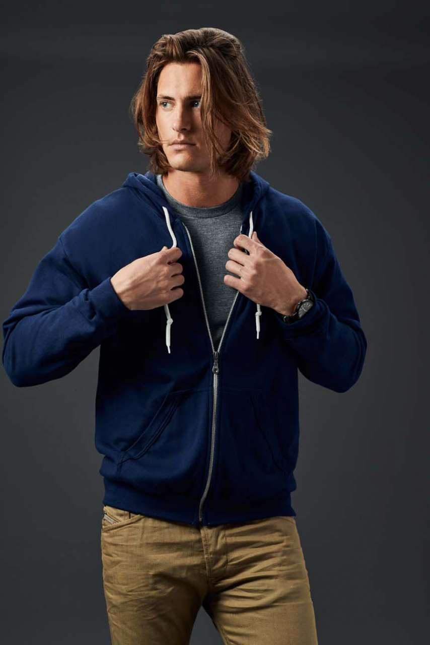 KARIBAN® Adult Full-Zip Hooded Sweatshirt (AN71600)