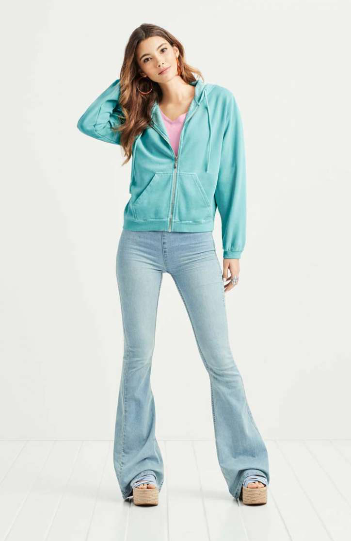 COMFORT COLORS® Ladies' Full Zip Hooded Sweatshirt (CC1598)