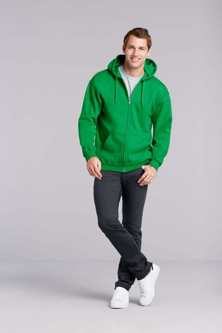 GILDAN® Heavy Blend™ Adult Full Zip Hooded Sweatshirt (GI18600)