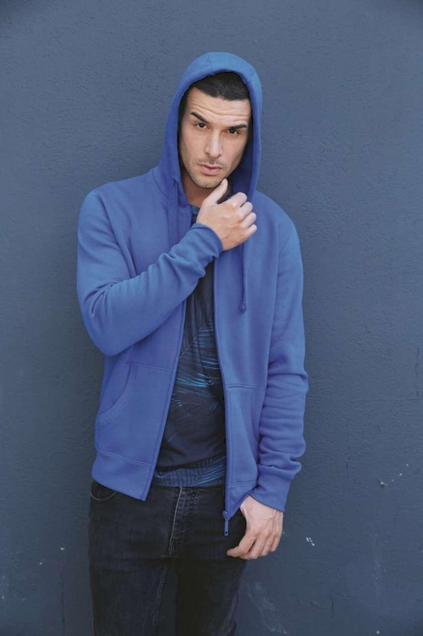 KARIBAN® Full Zip Hooded Sweatshirt (KA454)